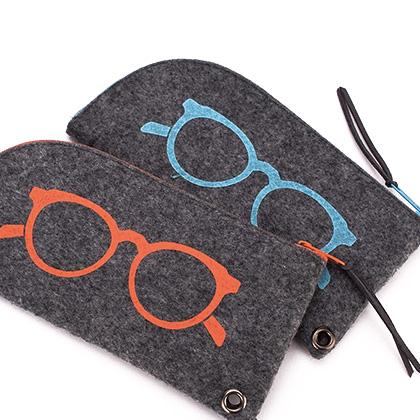 soft fashion glasses case