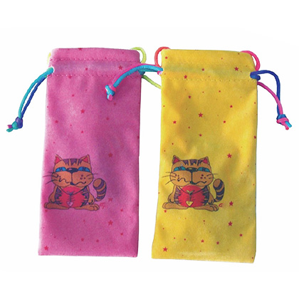 kids microfibre glasses pouch