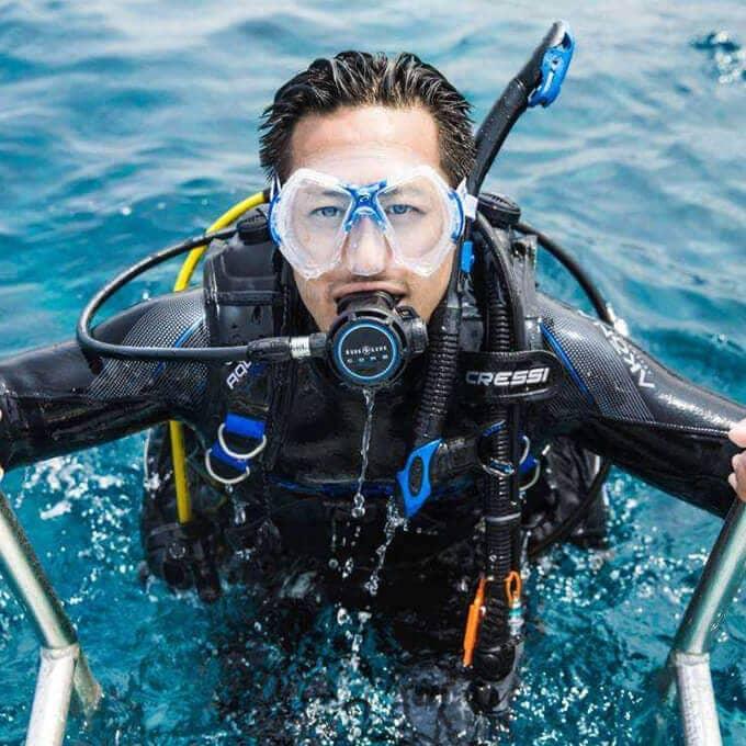 diving mask no fog